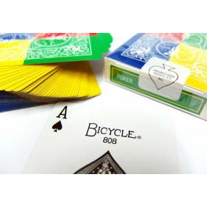 Tetra Deck- 4 Way Fanning Deck- Bicycle