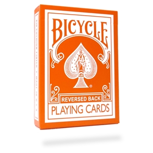 Bicycle Orange Reverse Deck