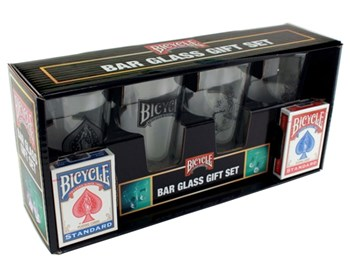 Bar Glass Gift Set by Bicycle
