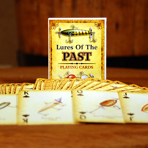 Lures of The Past Playing Cards