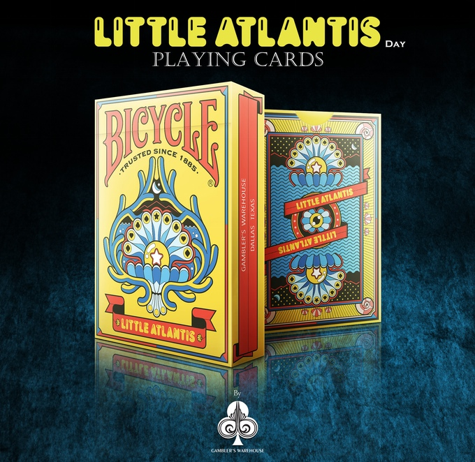 Bicycle Little Atlantis (Day) Playing Cards