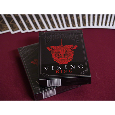 Bicycle Viking King (Limited Edition) Deck by Crooked Kings Cards