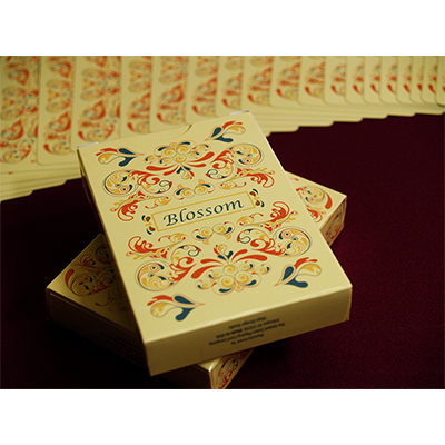 Blossom deck (Fall) Platinum Metallic Ink by Aloy Studios USPS