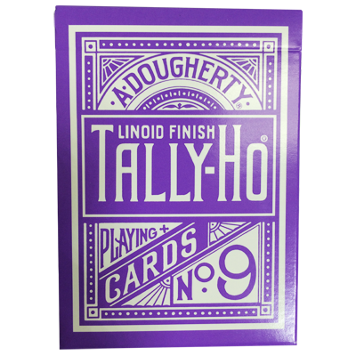 Tally Ho Reverse Circle back (Purple) Limited Ed. by Aloy Studios / USPCC