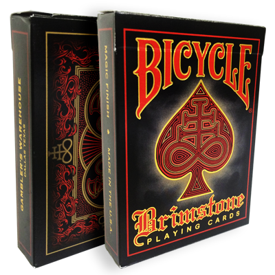 Bicycle Brimstone Deck (Red) by Gambler's Waerhouse