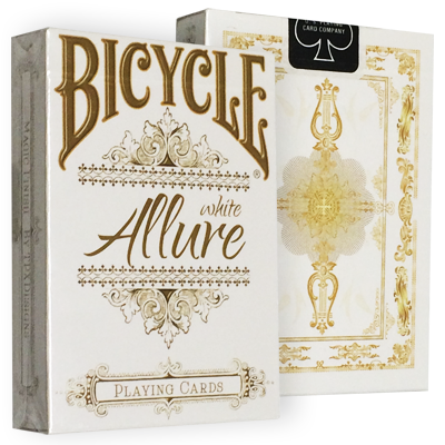 Bicycle Allure White Deck
