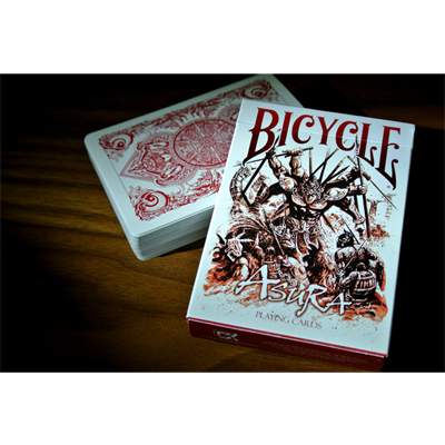 Bicycle Asura Red Deck