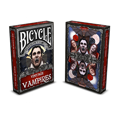 Bicycle Vintage Vampires Playing Card
