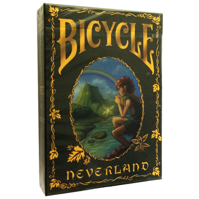 Bicycle Neverland Deck by Nat Iwata