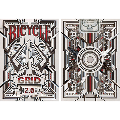 Bicycle Grid 2.0 Red Limited Edition