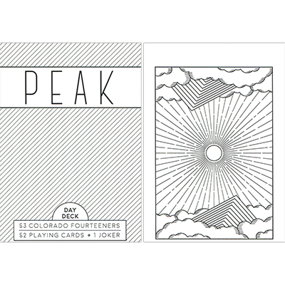 Peak Playing Cards (Day) by USPCC