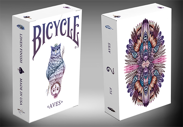 Bicycle Aves Version 2 by LUX Playing Cards