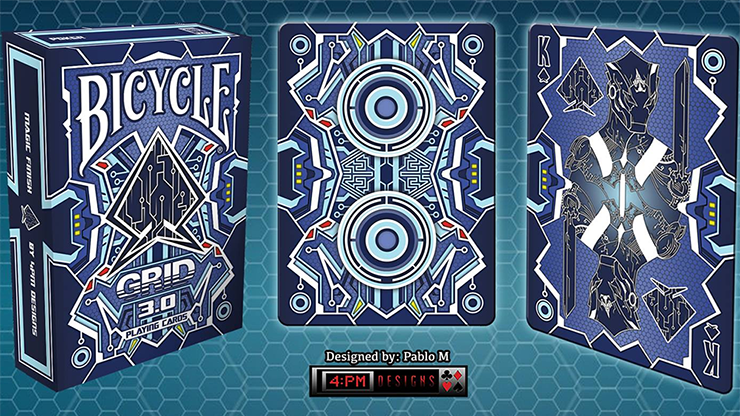 Bicycle Grid 3.0 (Limited) from Gamblers Warehouse