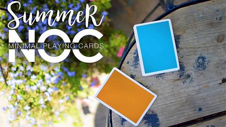 Summer NOC Playing Cards (Orange) by The Blue Crown