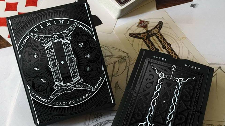 Gemini Noctis (Limited Edition and Numbered) Playing Cards by Stockholm17