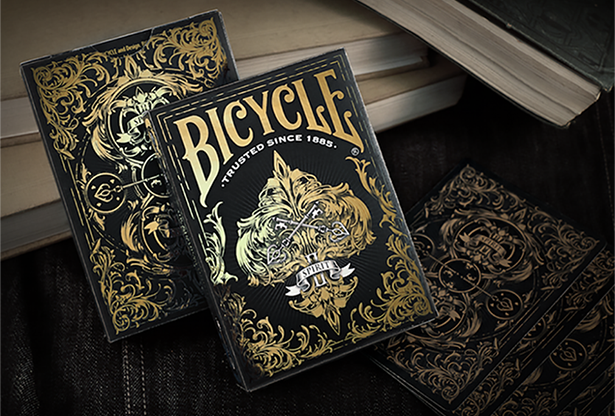 Bicycle Spirit II (Black) Playing Cards