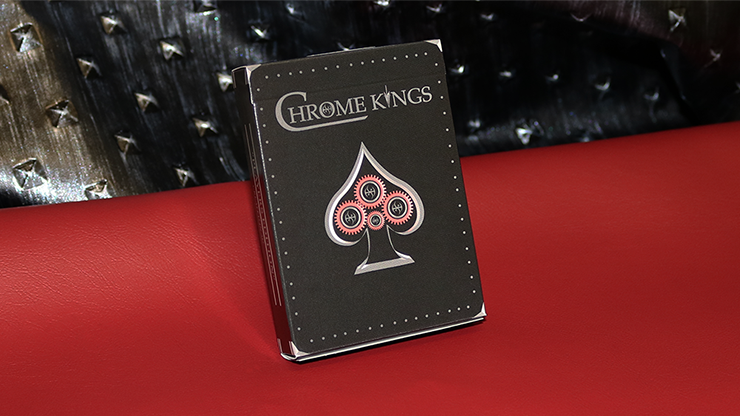 Chrome Kings Limited Edition Playing Cards (Players Edition) by De\\\'vo vom Schattenreich and Handlordz