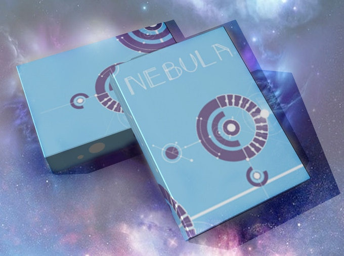 Nebula (Blue) Playing Cards