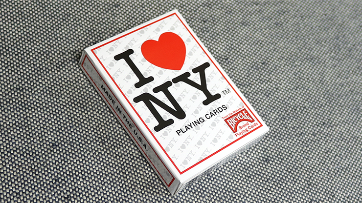 Bicycle I Love NY Playing Cards