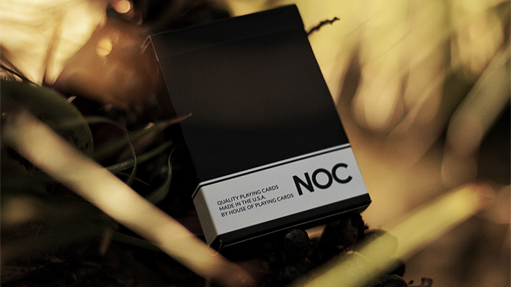 NOC Original Deck (Black) Printed at USPCC by The Blue Crown