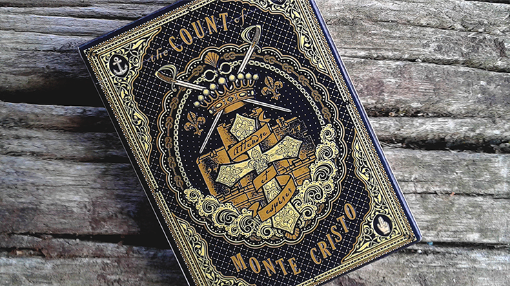 The Count of Monte Cristo Playing Cards