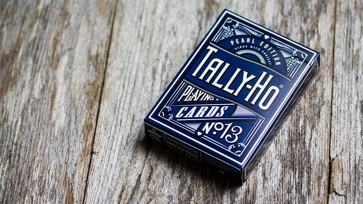Tally-Ho Pearl (Players-Edition) Playing Cards