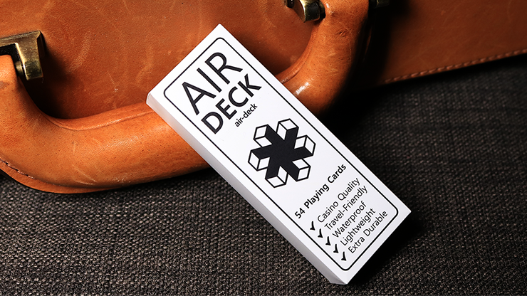 Air Deck - The Ultimate Travel Playing Cards (White)