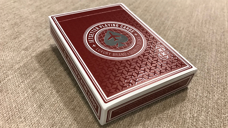Premier Edition in Restricted Red by Jetsetter Playing Cards