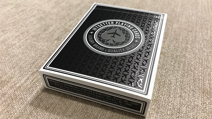 Premier Edition in Jet Black (Private Reserve) by Jetsetter Playing Cards