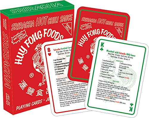 Sriracha Playing Cards