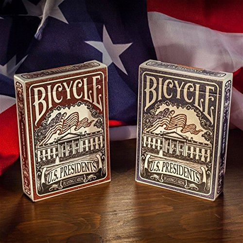 Bicycle U.S. Presidents Playing Cards (Blue Retail Version)