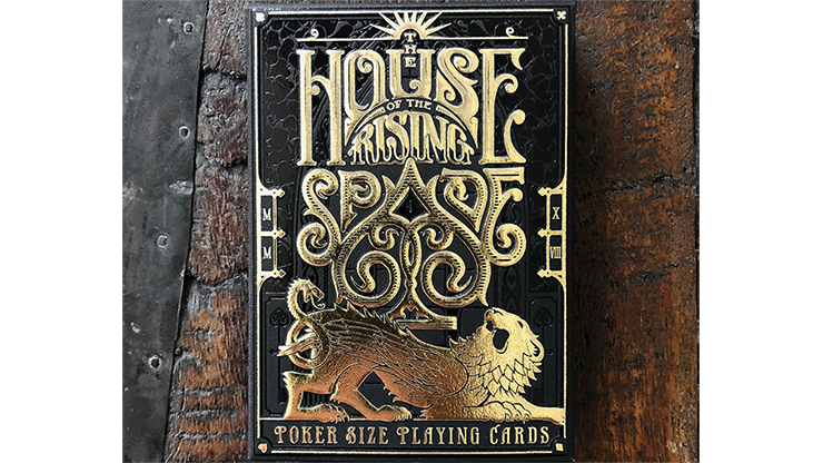 The House of the Rising Spade (Cartomancer) Playing Cards