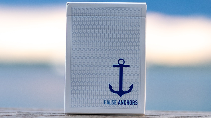 Limited Edition False Anchors Playing Cards by Ryan Schlutz