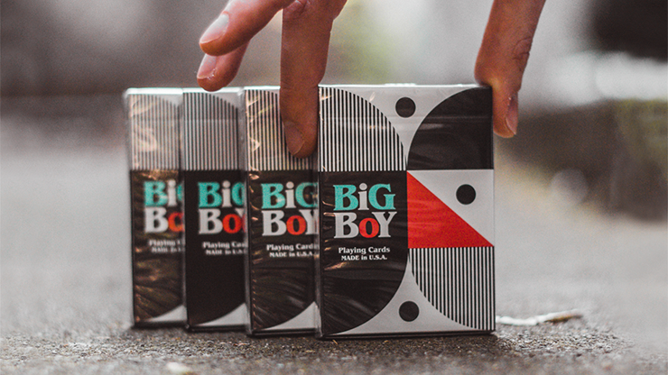 Big Boy No.2 Playing Cards by Toomas Pintson