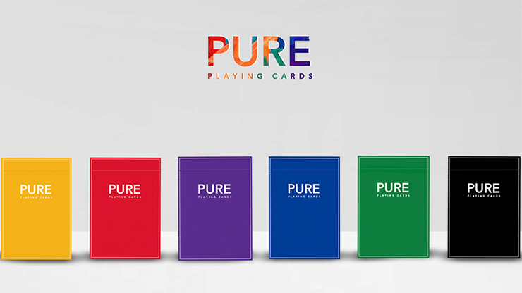Pure (Blue) Playing Cards
