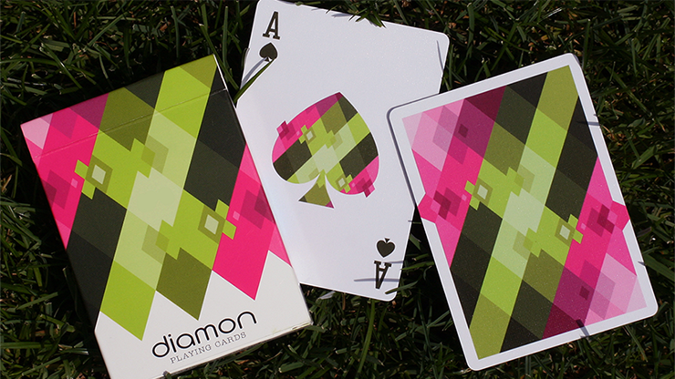 Diamon Playing Cards N° 8 Summer Bright