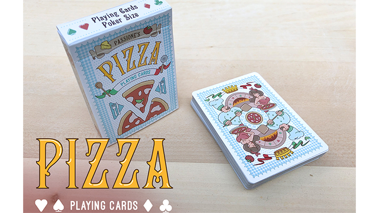 Passione\\\'s Pizza Playing Cards by LPCC