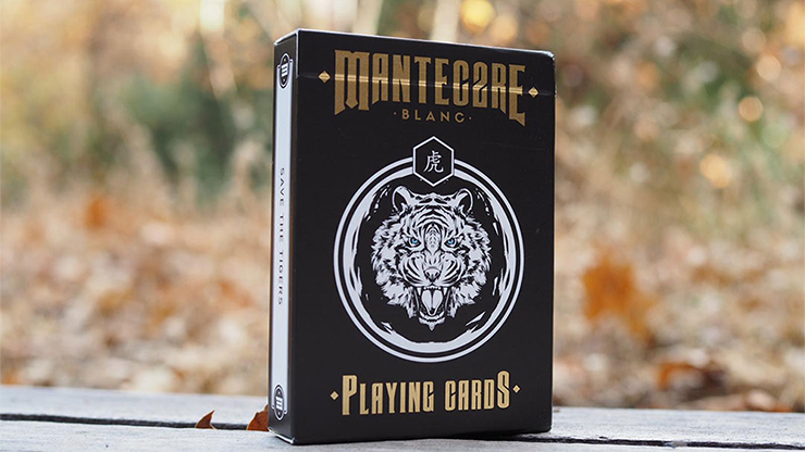 Mantecore Blanc Playing Cards by Edo Huang and Cardvo