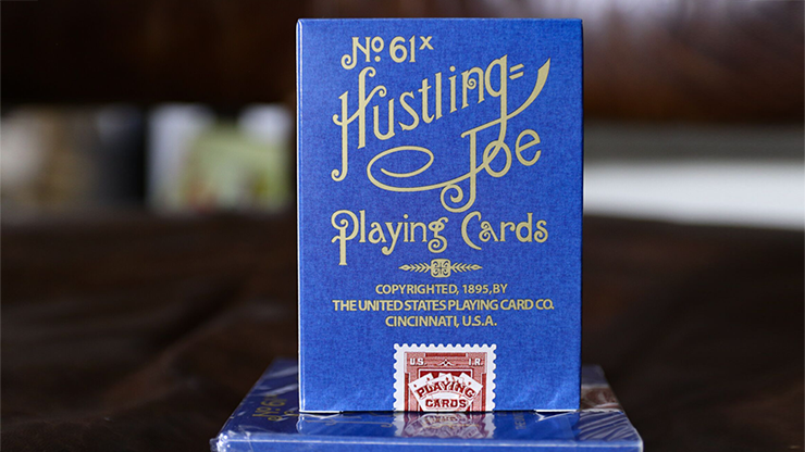 Limited Edition Hustling Joe (Gnome Back Blue Box) Playing Cards