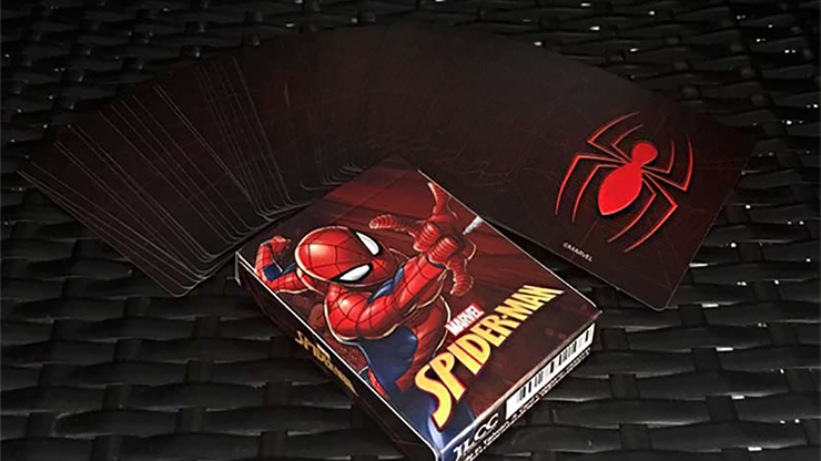 Avengers Spider-Man V2 Playing Cards