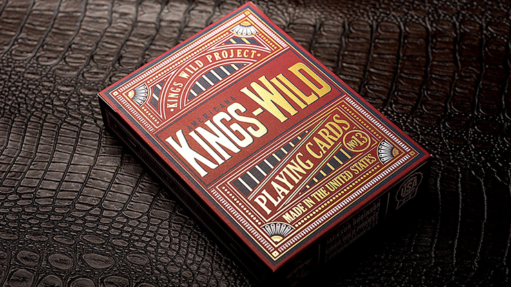 Kings Wild Americanas Gilded JUMBO Tuck Case Collectors Set Edition by Jackson Robinson
