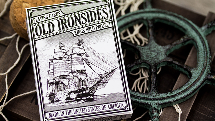 Old Ironsides Playing Cards by Kings Wild Project
