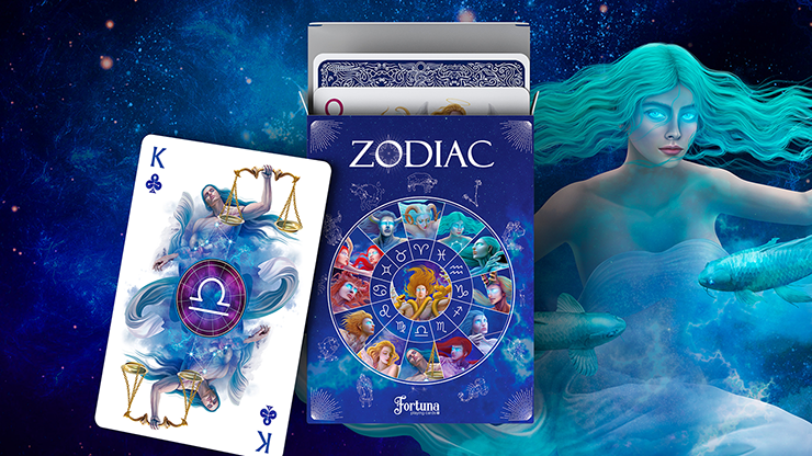 Zodiac Playing Cards by Fortuna Playing Cards