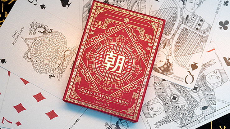 Chao (Red) Playing Cards by MPC