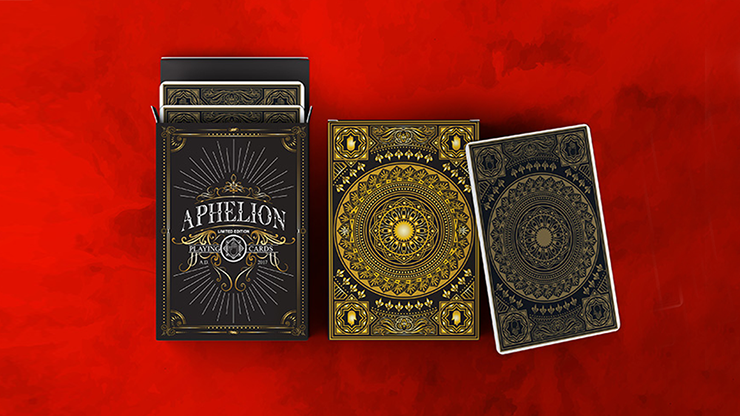 Aphelion Playing Cards - Black Edition Playing Cards