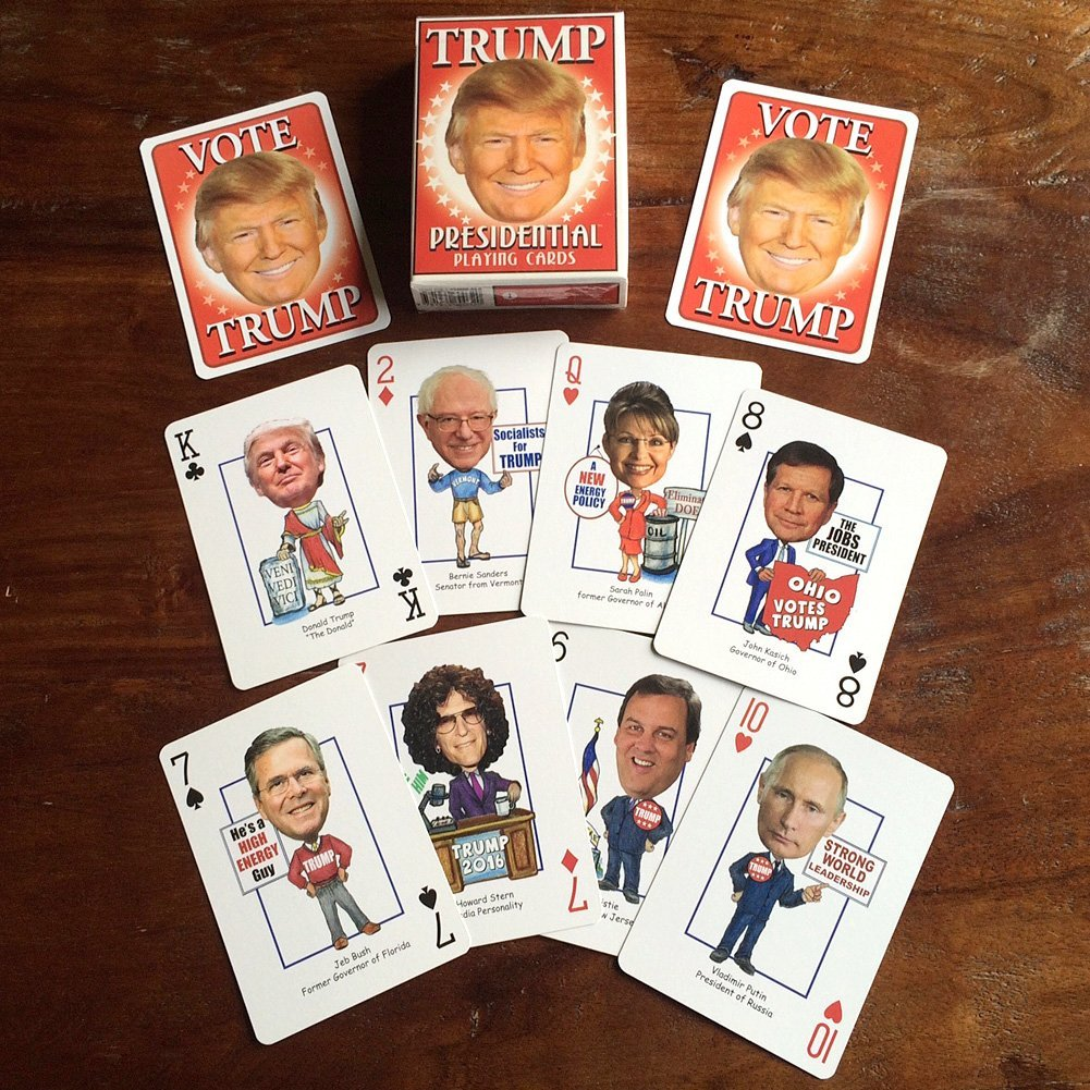 Trump Presidential Playing Cards