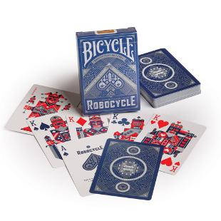 Bicycle Robocycle Deck Blue