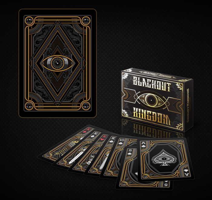 Unbranded Blackout Kingdom Playing Cards (Gold Limited)