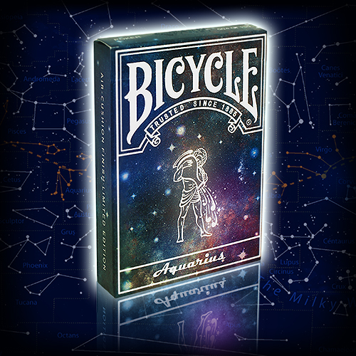 Bicycle Constellation Series (Aquarius) Limited Edition Playing Cards