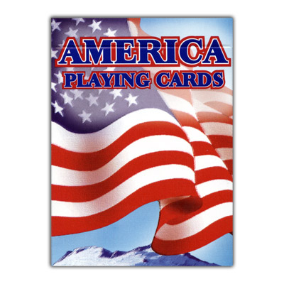 Cards American Flag - 12 PACK